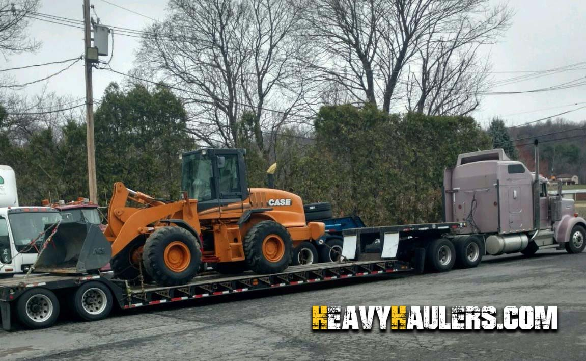 Case 621Z wheel loader delivery