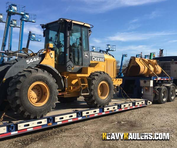 JD 544K Wheel Loader Delivery