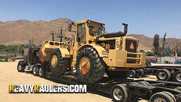 1973 Caterpillar 988A Wheel Loader Delivery