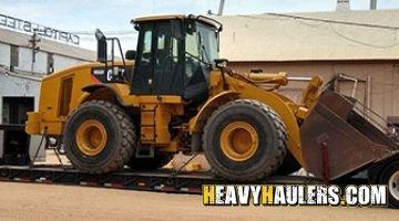 Shipping a wheel loader in Nevada