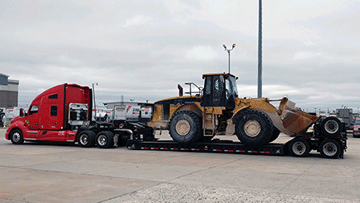 Caterpillar 980GII Wheel Loader Delivery