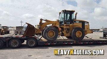 New Mexico wheel loader transport