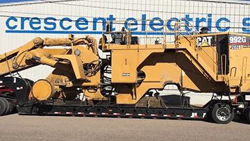 Wheel loader trasport in Utah