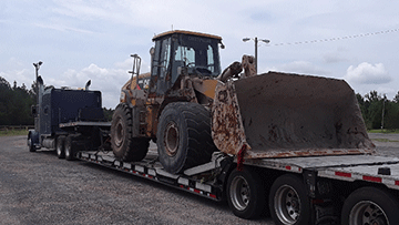Shipping wheel loaders in Rhode Island