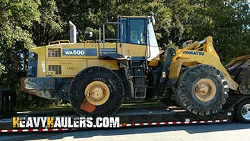 Shipping a Wheel Loader from California