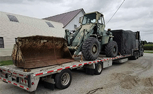 Terex 72-31 Wheel Loader Hauling