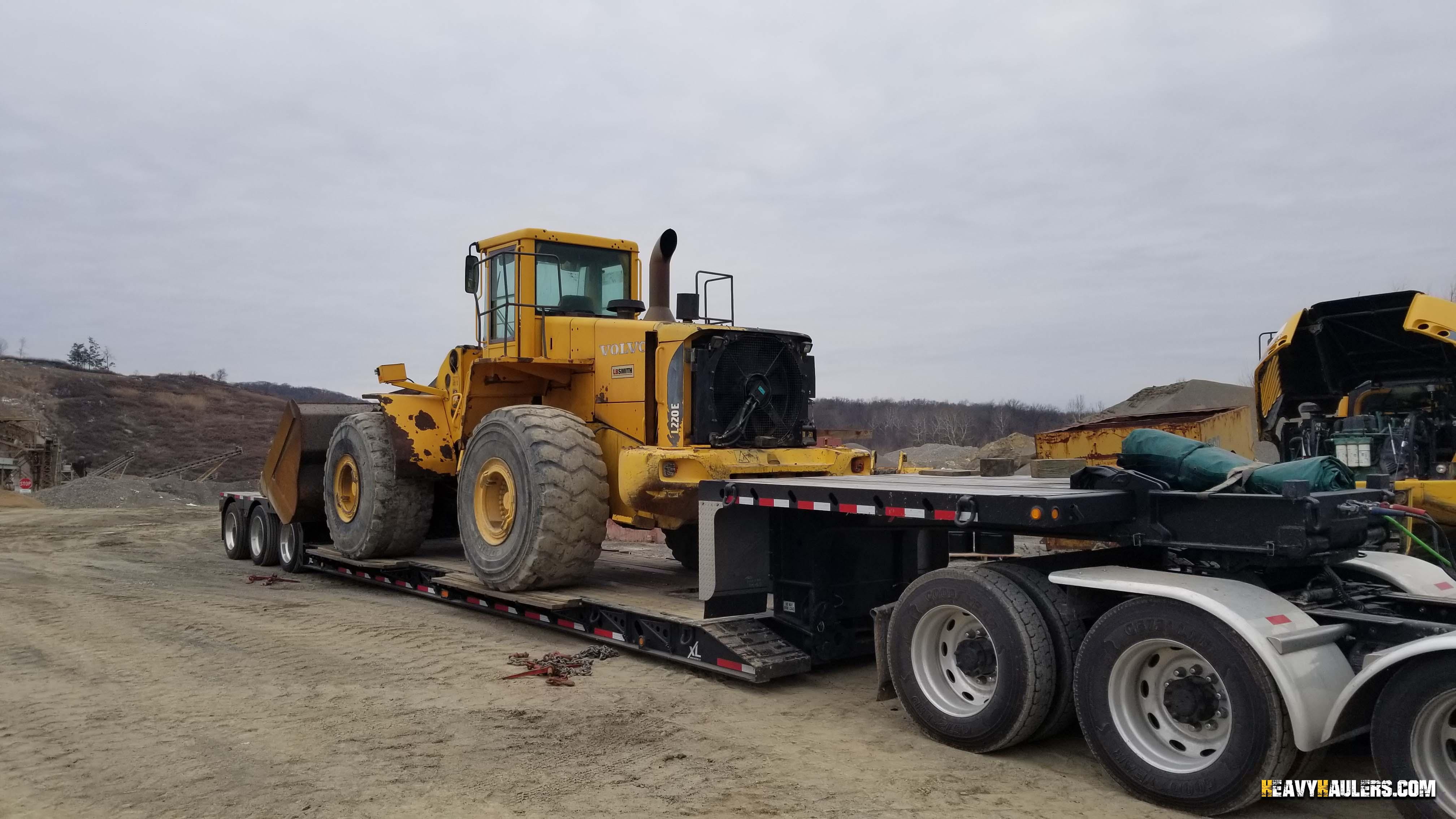 Wheel Loader Shipping   Heavy Haulers   (800) 908-6206