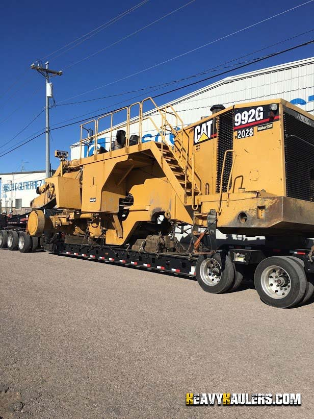 CAT 992G Wheel Loader Delivery