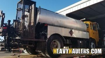 Control and Pump Equipment Transport